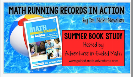 Math Running Records Book Study! Yaaaay!